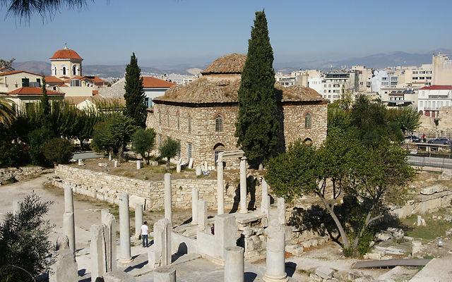 Греция Римская Агора