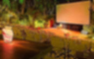 Греция Санторини Открытый кинотеатр Камари