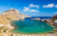 Греция Родос Пляж Агиос Павлос Линдос