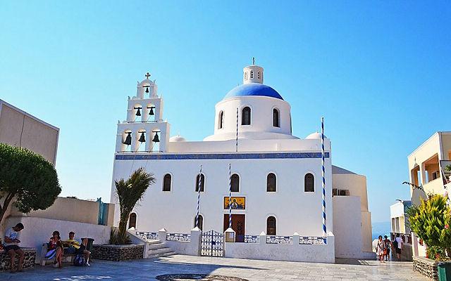 Греция Санторини Церковь Святого Созонта