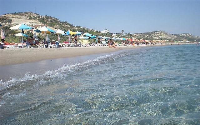 Греция Кос Пляж Лагада Кефалос