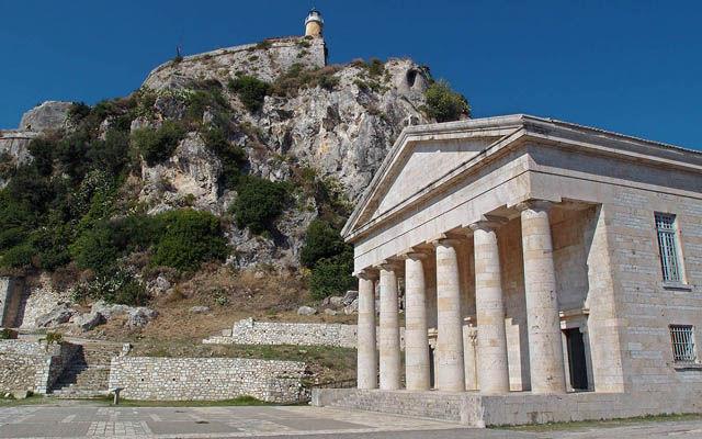 Греция Корфу Дворец Святых Михаила и Георгия