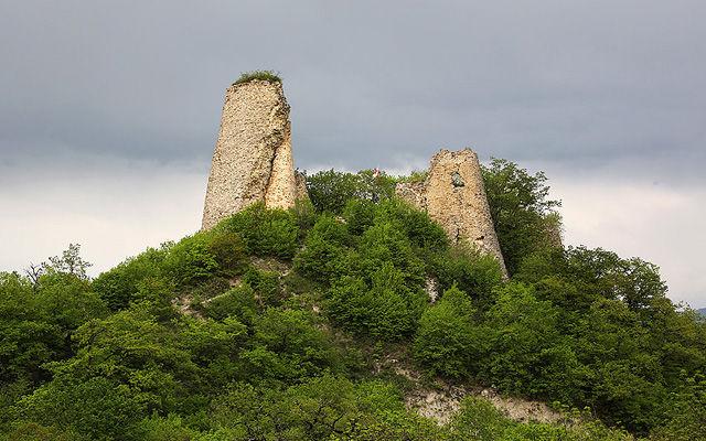 Грузия Крепость Уджарма Кахетия