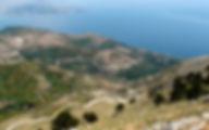 Греция Корфу Гора Пантократор