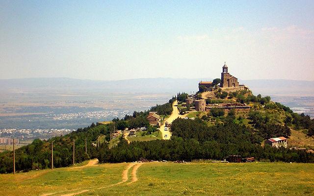 Грузия Шавнабадский монастырь Св. Георгия Победоносца Тбилисский регион