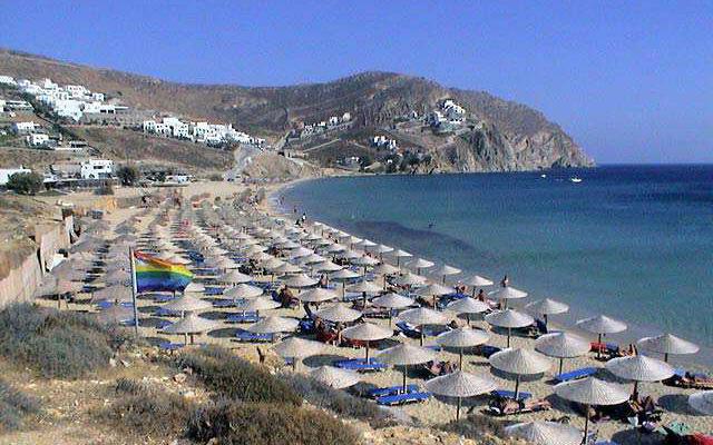 Греция Миконос Элия