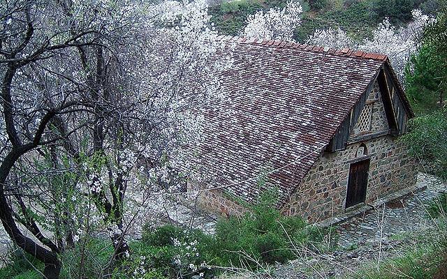 Кипр Церковь Ставрос ту Агиасмати