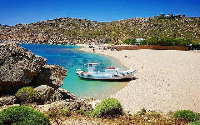 Греция Миконос Аграри
