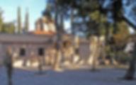 Греция Монастырь Влатадон Салоники
