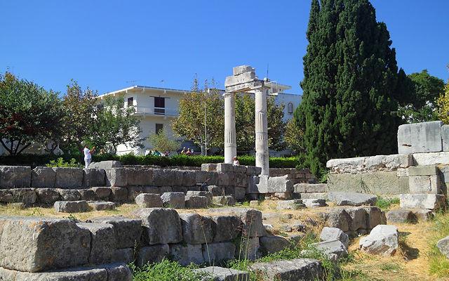 Греция Кос Древняя Агора Koс