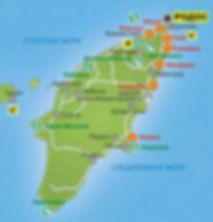 Карта Родоса