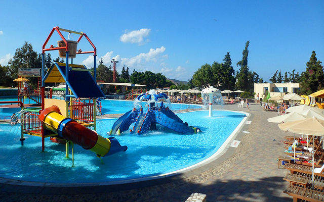 Греция Крит Аквапарк Limnoupolis