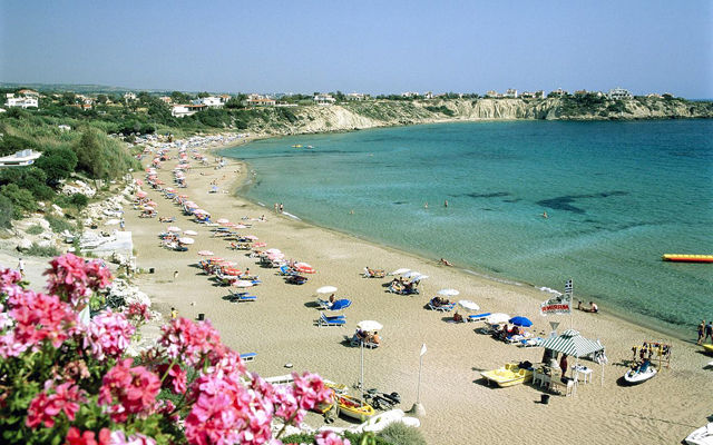 Кипр Залив Coral Bay (Пафос)