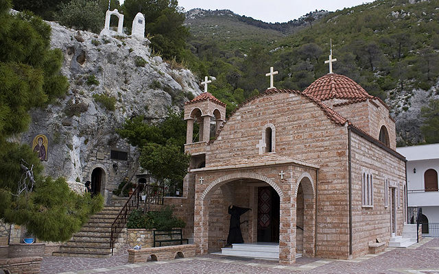 Греция Монастырь  Святого Потапия