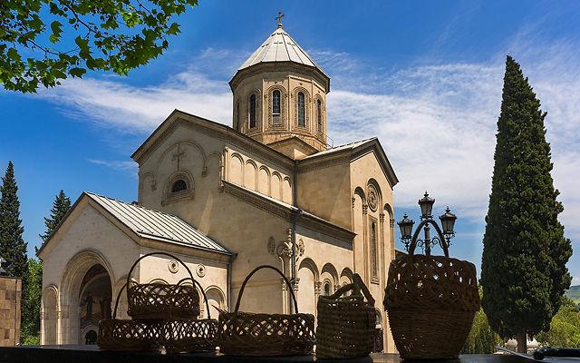 Грузия Церковь Святого Георгия Тбилиси