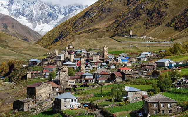 Грузия Община Ушгули Сванетия