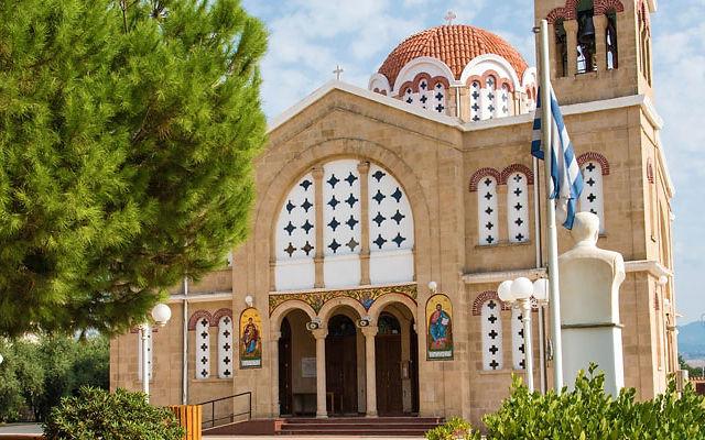 Достопримечательности Кипр  Деревня Полис Хрисохус