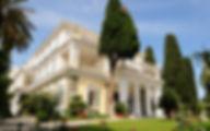 Греция Корфу Дворец  Ахиллион