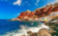 Греция Санторини Залив Амуди Бей