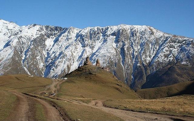 Грузия Национальный парк Казбеги Мцхета