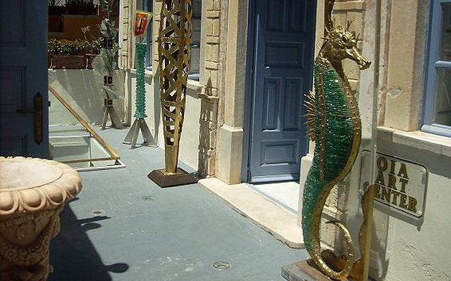 Греция Санторини Арт-галерея Ия