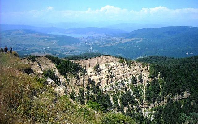Грузия Тбилисский национальный парк Мцхета-Мтианетия