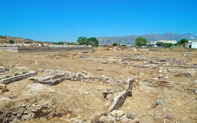 Греция Кос Храм Аполлона в Кардамена Кос