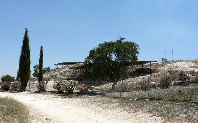 Кипр Древний город Идалион