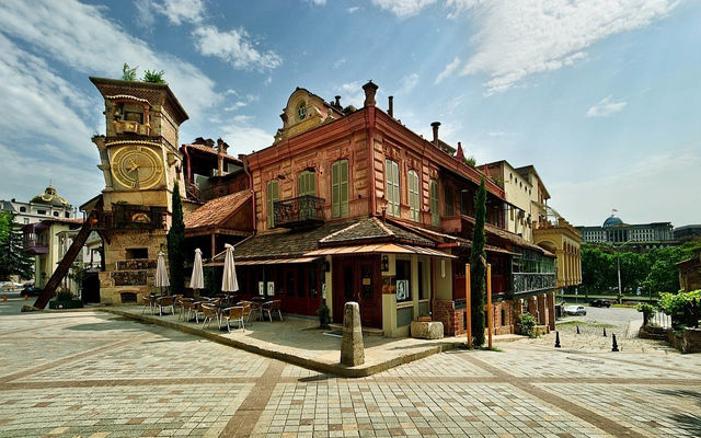 Грузия Театр Габриадзе Тбилиси
