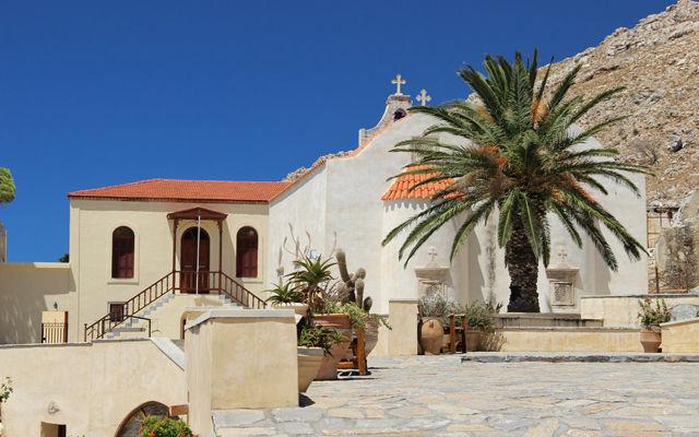 Греция Крит Монастырь Превели Ретимно