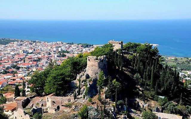 Греция Пелопоннес Кипариссия