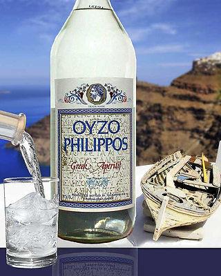 Греческие вина и напитки Водка Узо