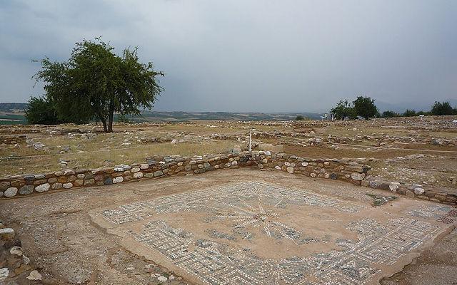 Греция Халкидики Археологический заповедник Олинтос