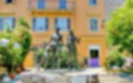Греция Корфу Памятник Жертвам Холокоста в Керкире