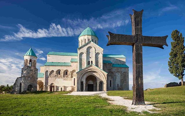 Грузия Храм Баграта Кутаиси