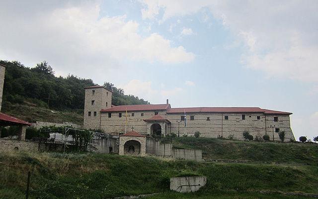 Греция Монастырь Святой Троицы