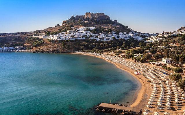 Греция Родос Линдос