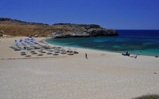 Греция Крит Пляж Схинария область Ретимно