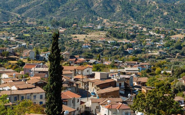 Достопримечательности Кипр Деревня Эвриху