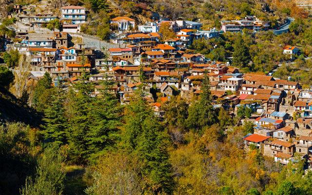 Кипр Деревня Аскас