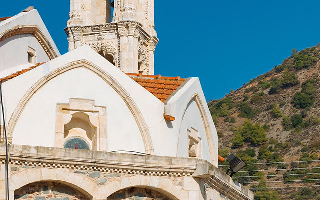 Кипр Церковь Богородицы Иаматики