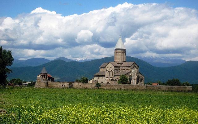 Грузия Кафедральный собор Алаверди Телави