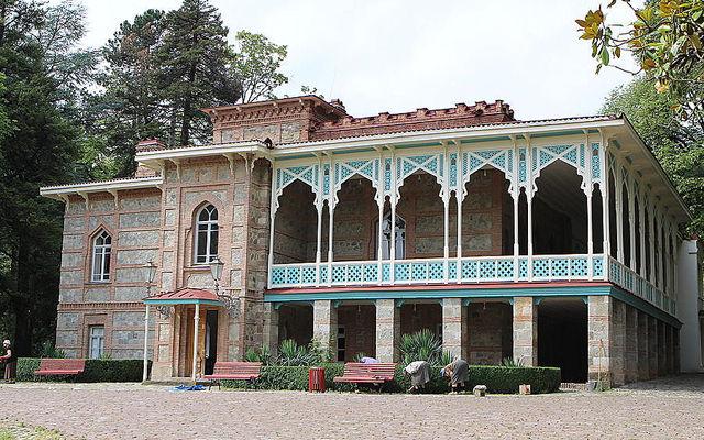 Грузия Дворец князей Чавчавадзе Кахетия