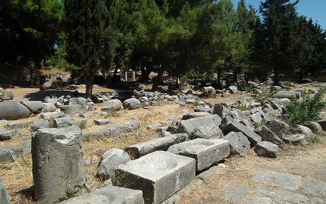 Греция Кос Западная археологическая зона Коса