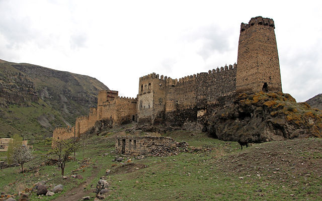 Грузия Крепость Хертвиси Самцхе-Джавахети
