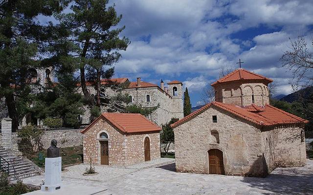 Греция Пелопоннес Монастырь Святая Лавра