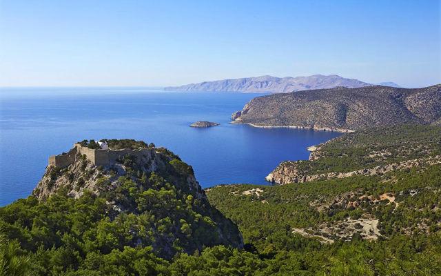 Греция Родос Замок Монолитос