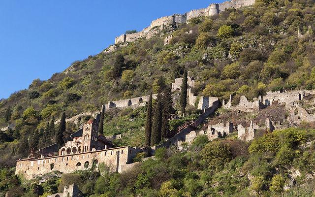 Греция Пелопоннес Монастырь Пантанасса
