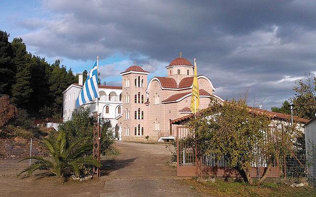 Греция Монастырь Святых Ангелов в Афиднес