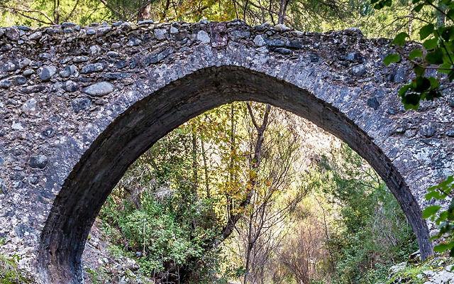 Достопримечательности Кипр Деревня Трис Элиес